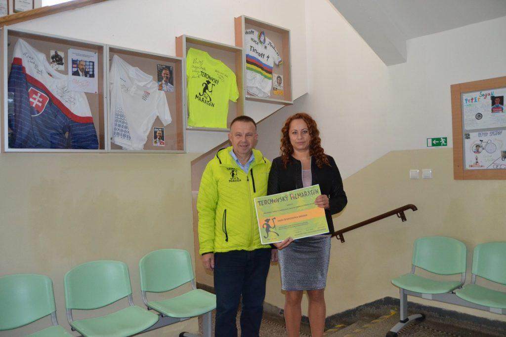 Dres Terchovského polmaratónu na čestnom mieste